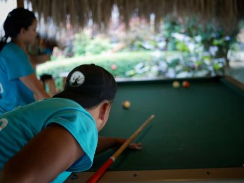 Hostel Playing Pool