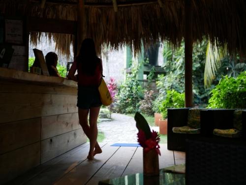 Hostel Reception Girl