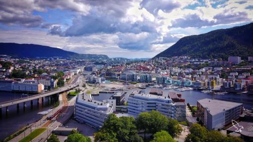 Bergen Norway Drone DJI