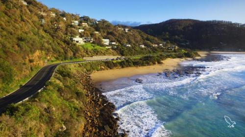Ocean Road Car Drone